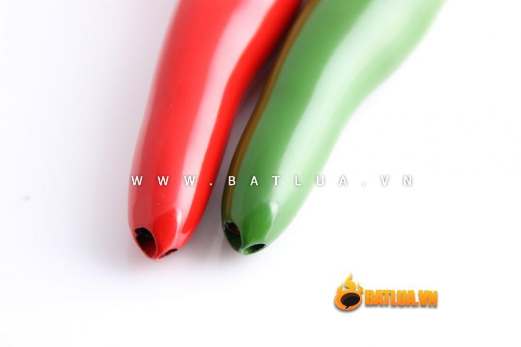 Bật lửa móc khóa kiểu dáng sáng tạo hình trái ớt cay