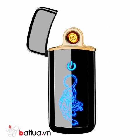 Bật Lửa Điện cảm Ứng LED Chúa Sơn Lâm